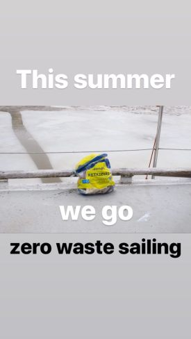 we go zero waste sailing